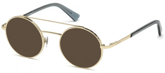Diesel DL5272 sunglasses in Gold