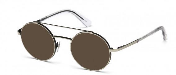 Diesel DL5272 sunglasses in Matte Palladium