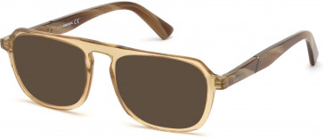 Diesel DL5288 sunglasses in Beige/Other
