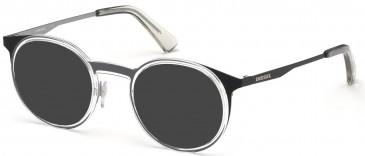 Diesel DL5298 sunglasses in Black/Other