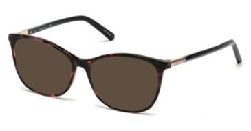Swarovski SK5238 sunglasses in Coloured Havana