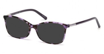 Swarovski SK5239-53 sunglasses in Coloured Havana