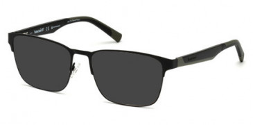Timberland TB1575-53-53 sunglasses in Matte Black