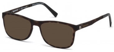 Timberland TB1599-56 sunglasses in Coloured Havana