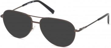 Timberland TB1630-59 sunglasses in Matte Gunmetal