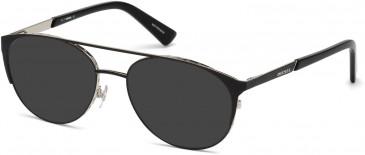 Diesel DL5259 sunglasses in Black/Other