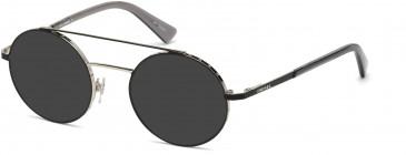 Diesel DL5272 sunglasses in Black/Other