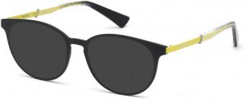 Diesel DL5289 sunglasses in Matte Black