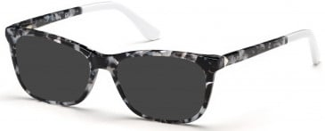 Guess GU2697-52 sunglasses in Black/Other
