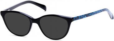 Guess GU9159 sunglasses in Shiny Black