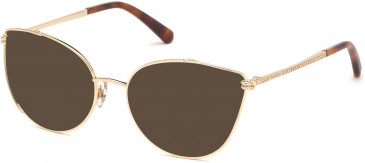 Swarovski SK5317 sunglasses in Gold