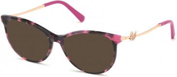 Swarovski SK5320 sunglasses in Coloured Havana