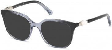 Swarovski SK5321 sunglasses in Black/Other
