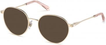 Swarovski SK5323-H sunglasses in Gold