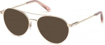 Swarovski SK5324-H sunglasses in Gold