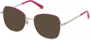 Swarovski SK5333 sunglasses in Shiny Palladium