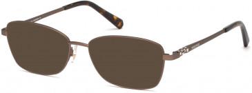 Swarovski SK5337 sunglasses in Matte Dark Brown