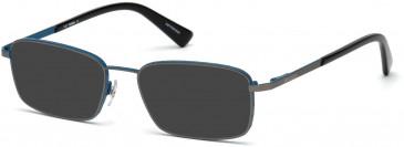 Diesel DL5273 sunglasses in Matte Gunmetal