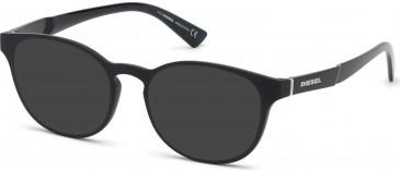 Diesel DL5336 sunglasses in Matte Black