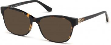 Guess GU2696-54 sunglasses in Dark Havana