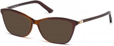 Swarovski SK5137 sunglasses in Dark Brown/Other