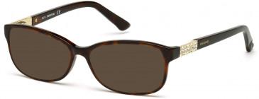 Swarovski SK5155 sunglasses in Dark Havana