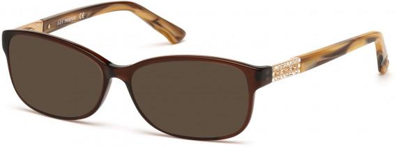 Swarovski SK5155 sunglasses in Shiny Light Brown