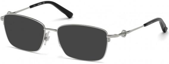 Swarovski SK5176 sunglasses in Matte Palladium
