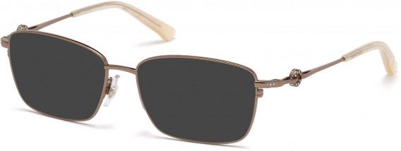Swarovski SK5176 sunglasses in Shiny Dark Bronze
