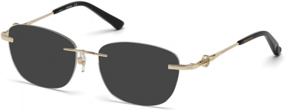 Swarovski SK5177 sunglasses in Shiny Rose Gold