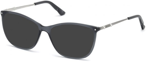 Swarovski SK5178 sunglasses in Shiny Black