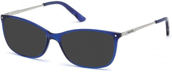 Swarovski SK5179 sunglasses in Shiny Blue
