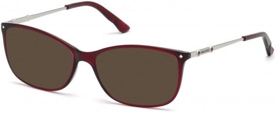 Swarovski SK5179 sunglasses in Shiny Bordeaux