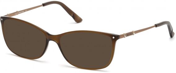 Swarovski SK5179 sunglasses in Shiny Light Brown