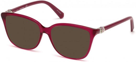 Swarovski SK5242-52 sunglasses in Shiny Fuxia