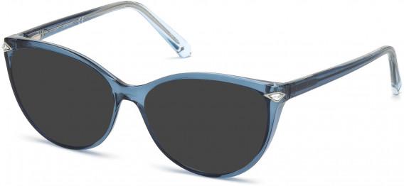 Swarovski SK5245 sunglasses in Shiny Light Blue