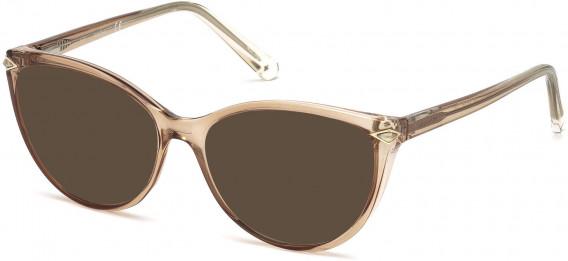Swarovski SK5245 sunglasses in Shiny Light Brown