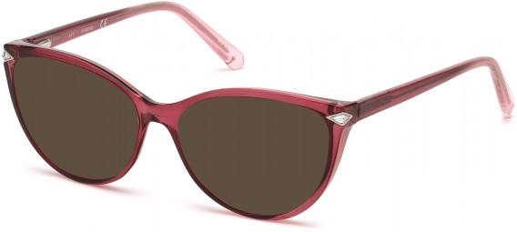 Swarovski SK5245 sunglasses in Shiny Pink