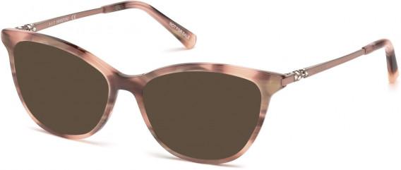 Swarovski SK5249-H sunglasses in Shiny Pink