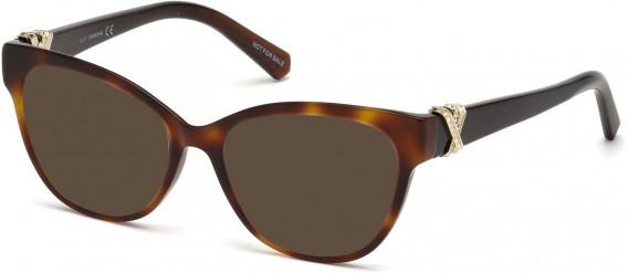 Swarovski SK5250-H sunglasses in Dark Havana