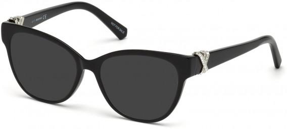 Swarovski SK5250-H sunglasses in Shiny Black