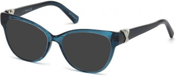 Swarovski SK5250-H sunglasses in Shiny Blue