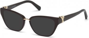 Swarovski SK5251-52 sunglasses in Dark Havana
