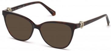 Swarovski SK5254 sunglasses in Dark Havana