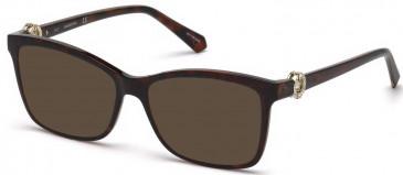 Swarovski SK5255 sunglasses in Dark Havana