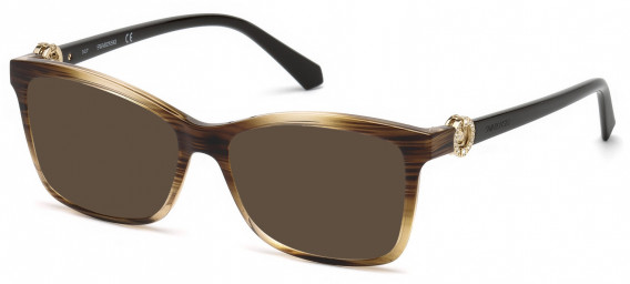 Swarovski SK5255 sunglasses in Light Brown/Other