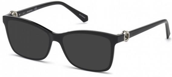Swarovski SK5255 sunglasses in Shiny Black