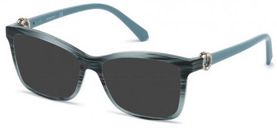 Swarovski SK5255 sunglasses in Shiny Turquoise