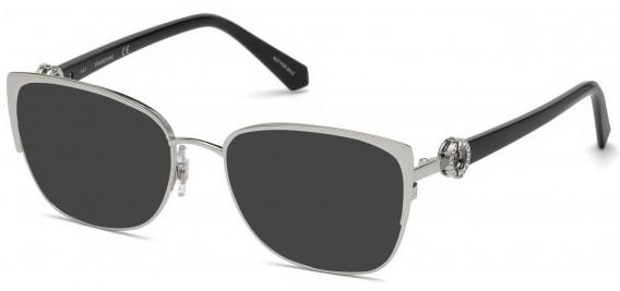 Swarovski SK5256-53 sunglasses in Shiny Palladium