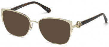 Swarovski SK5256-55 sunglasses in Gold